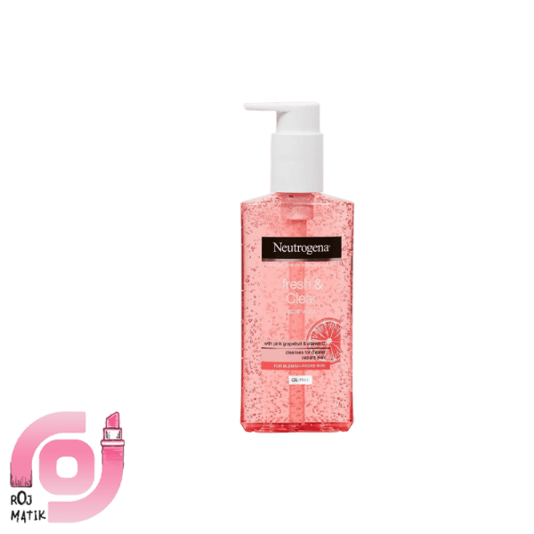 Neutrogena Fresh & Clear Facial Wash with Pink Grapefruit